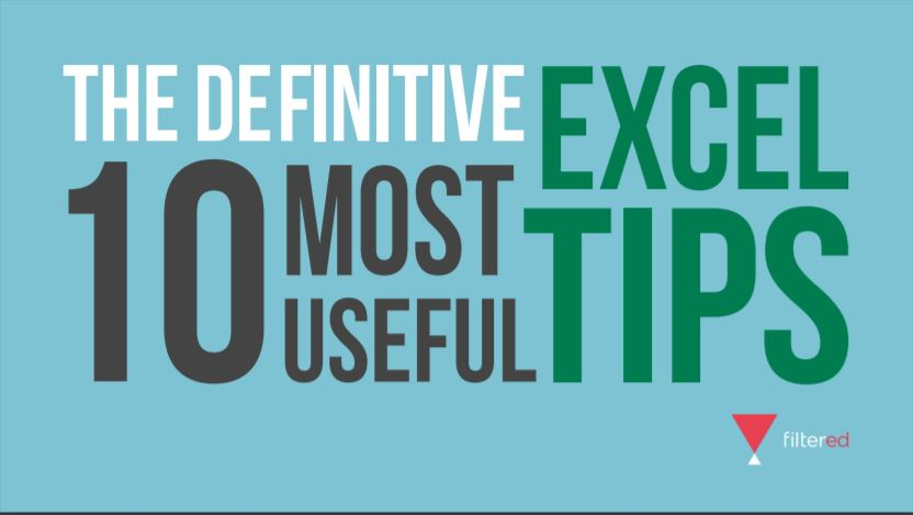 Top 10 Excel Tips
